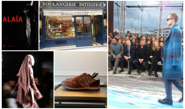 Grant Woolhead's Paris Diary: Day 1 & 2