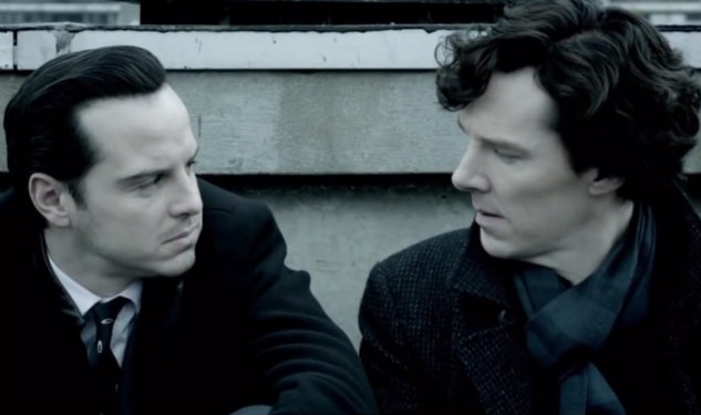WATCH: Benedict Cumberbatch & Andrew Scott Nearly Make Out