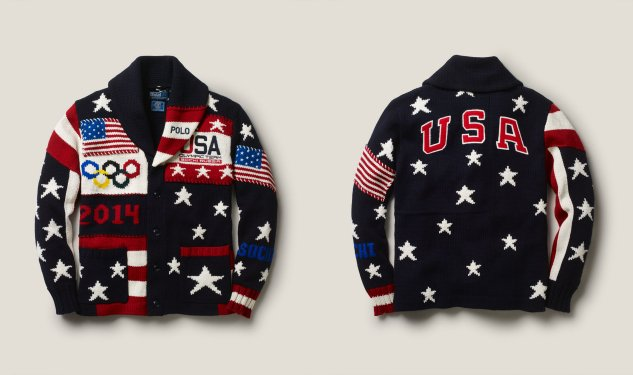 Daily Crush: Team USA Ceremony Cardigan by Polo Ralph Lauren