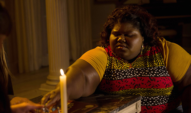 AHS's Gabourey Sidibe Won't Have You Glitter-Bombing Sarah Paulson