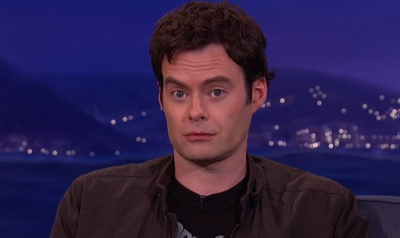 Bill Hader on Kissing Ty Burrell
