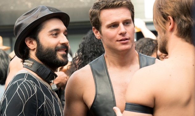 WATCH: Sneak Peek of Jonathan Groff in Leather