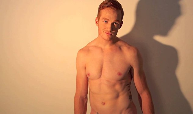 GIF Wall: Go Behind the Scenes of Olympian Greg Rutherford's Naked Photo Shoot