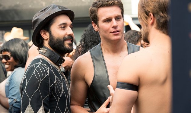 Looking GIF-cap: When At Folsom Street Fair...