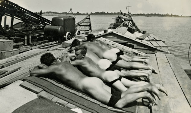 My Buddy: WWII Soldiers & Sailors at Their Most Unguarded
