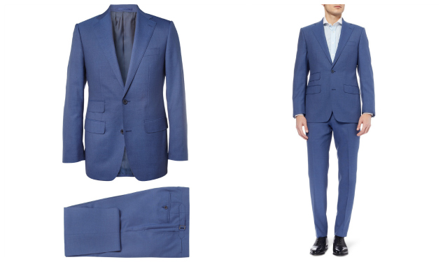 Daily Crush: Electric Blue Weighouse Suit by Thom Sweeney