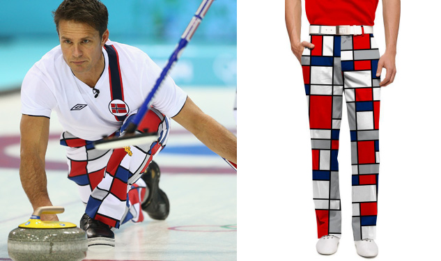 Daily Crush: The Norwegian Curling Team's Pants