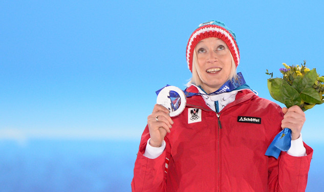 Daniela Iraschko-Stolz Wins Silver, Becomes Second Out Athlete to Medal
