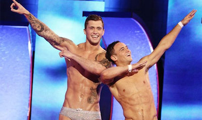 Watch Tom Daley & Dan Osborne Dive Together