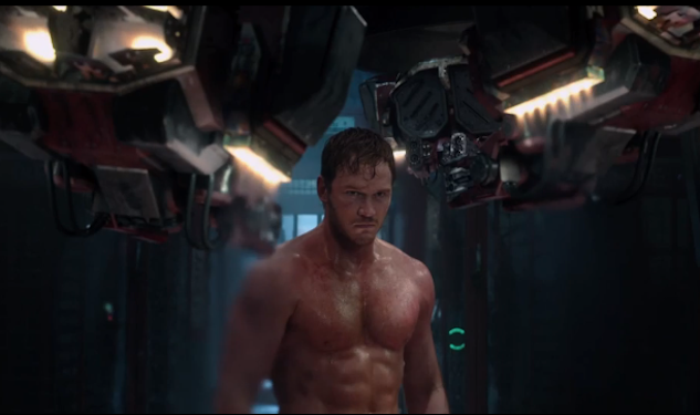 Chris Pratt In Guardians Of The Galaxy Trailer