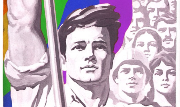 Soviet Propaganda Revamped To Show LGBT Strength