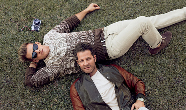 Nate Berkus & Fiancé Jeremiah Brent Star in New Banana Republic Ad