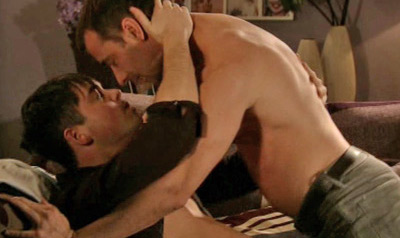 Shirtless Gay Kiss on British Soap Opera Sparks Controversy