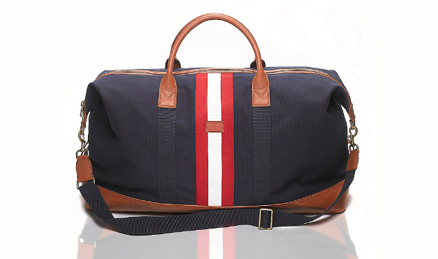 Daily Crush: Center Stripe Weekender Duffle by Tommy Hilfiger