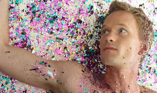 Go Behind the Scenes of Neil Patrick Harris's Glitter-Filled Photo Shoot