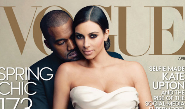 Kimye's On The April Cover OfVogue