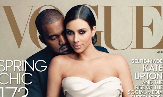 Kimye's On The April Cover Of Vogue