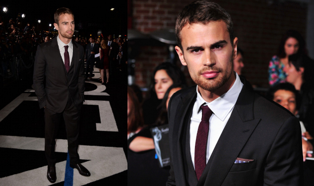 Out's Best-Dressed Man of the Week: Theo James