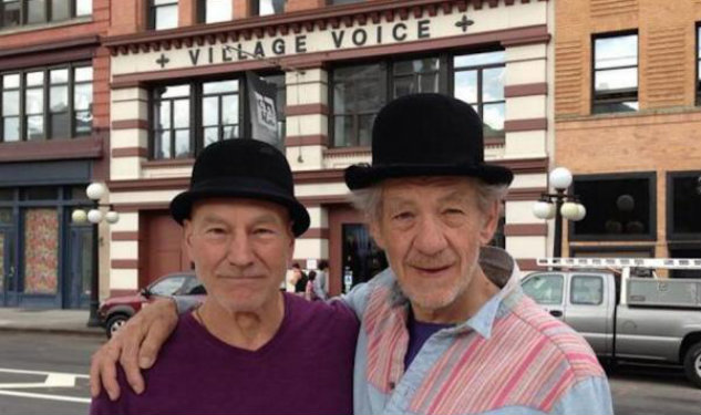 Patrick Stewart And Sir Ian McKellen Are New York's Favorite Visitors