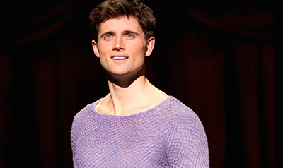 First Look: Kyle Dean Massey in Pippin