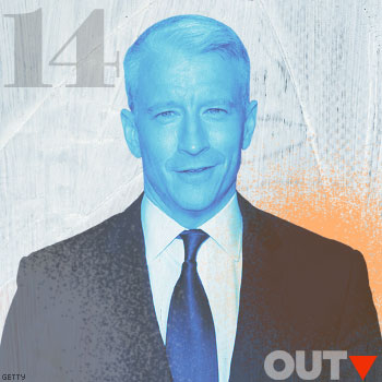 Power List 2014: ANDERSON COOPER