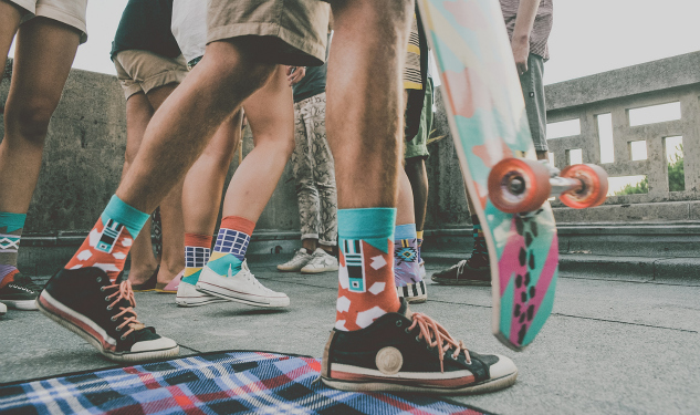 Daily Crush: Socks by Zulu Zion