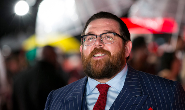 Nick Frost Wants Bears to Love Him—He Really Does