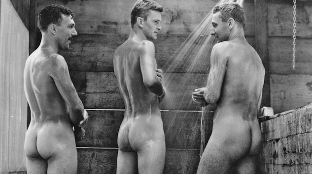 soldiers young naked