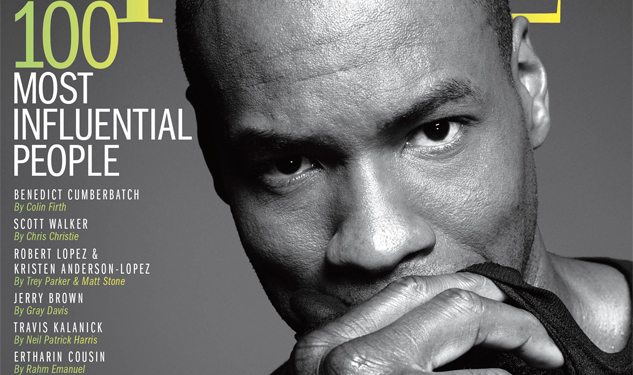 Jason Collins Covers Time's 100 Most Influential People Issue
