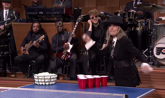 WATCH: Diane Keaton Wins Everything