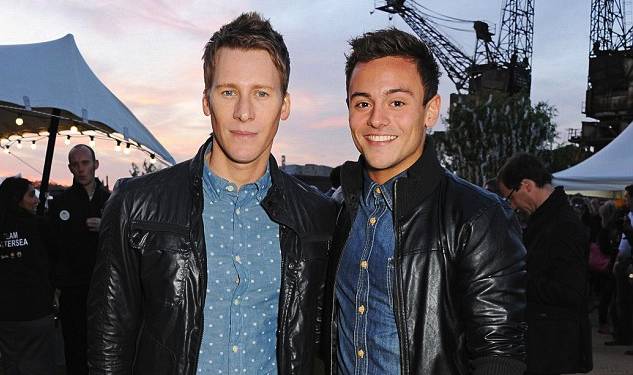 Tom Daley & Dustin Lance Black Make First Red Carpet Appearance Together