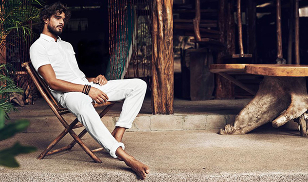 Marlon Teixeira Hangs Ten for H&M's Summer Campaign