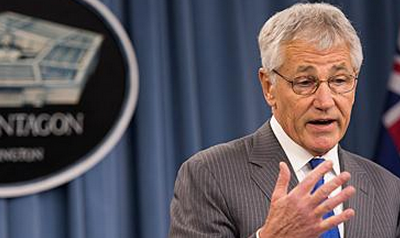 WATCH: Defense Sec. Hagel Open to Review Trans Military Ban