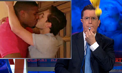 WATCH: Colbert Throws Penalty Flag at Hypocrisy Over Michael Sam