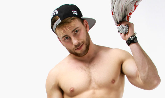 Nasty Pig Debuts Exclusive New Images of Model Bruin Collinsworth