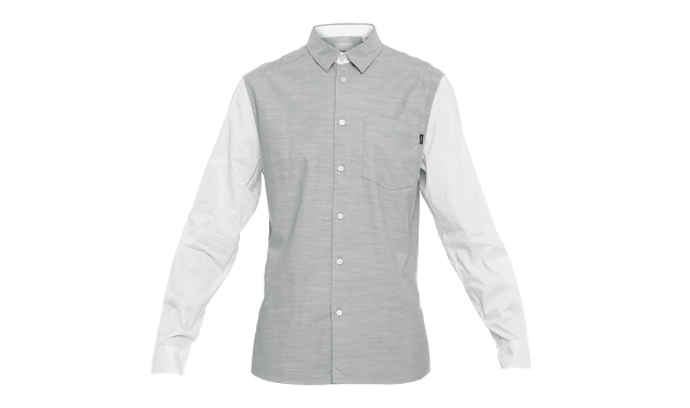 Daily Crush: Silver Chambray Shirt by WeSC