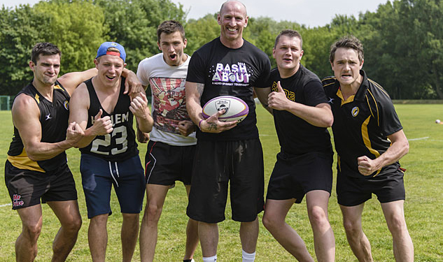 Gareth Thomas Coaches Gay Rugby Tournament