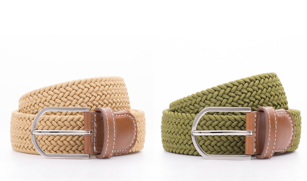 Daily Crush: Stretch Woven Belts by Beltology