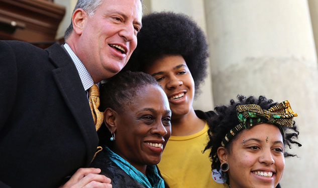 De Blasio Kids to Star in Gay-Fave Parade as King Neptune & Queen Mermaid