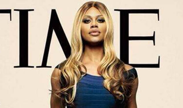 Laverne Cox Covers Time
