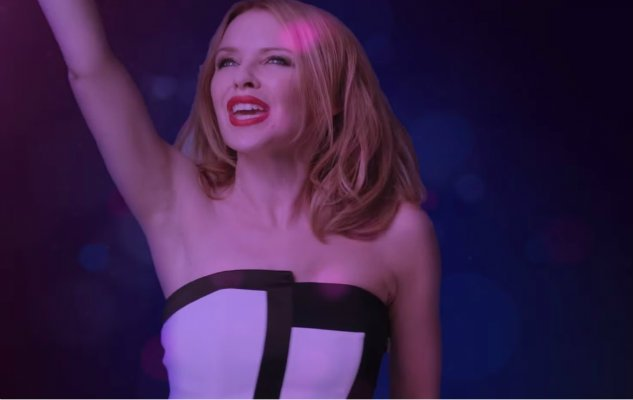 "Kylie Minogue's ""Crystallize"" Video Shows Us All Our Inner Performer"