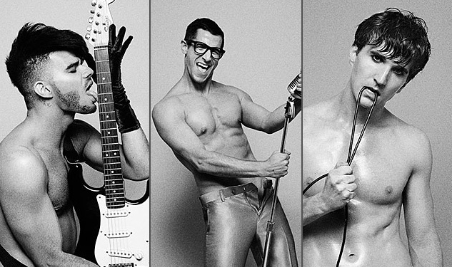 Broadway Goes Bare in Black and White