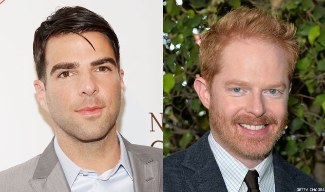 Zachary Quinto and Jesse Tyler Ferguson AreOne Thrilling Combination