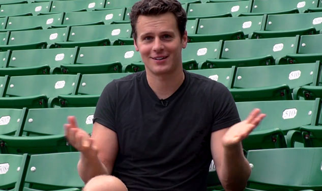 WATCH: Jonathan Groff's Tips on Getting Free Tix