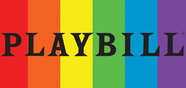 Playbill Goes Rainbow for Pride