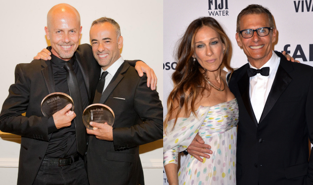 Calvin Klein Collection and HBO Honored at amfAR Inspiration Gala