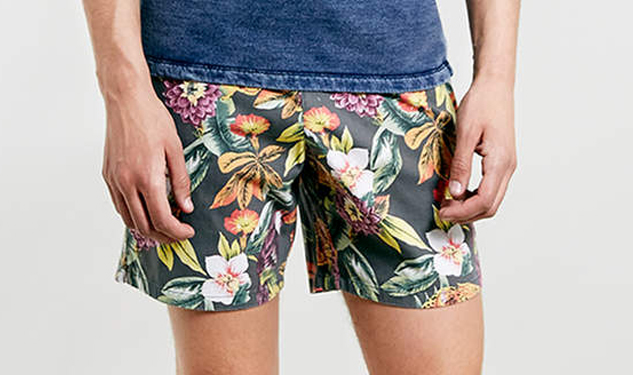 Daily Crush: Floral Shorts by Topman