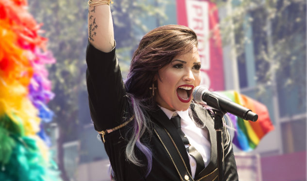 Image result for demi lovato LGBT