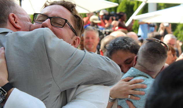 110 Gay Couples Marry During World Pride Week