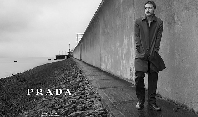 WATCH: Behind The Scenes Prada Fall/Winter 2014 With James McAvoy